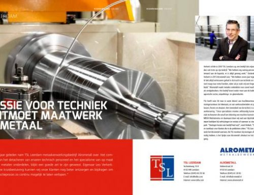 TSL Leerdam in magazine In Zaken